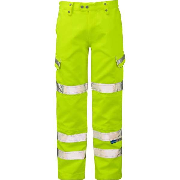 Pulsar Hi Vis Yellow Combat Trousers (P346)