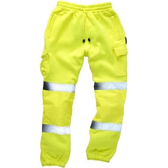 Standsafe Hi Vis Yellow Jogging Bottoms
