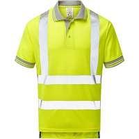 Pulsar Hi Vis Short Sleeved Polo Shirt (P175)